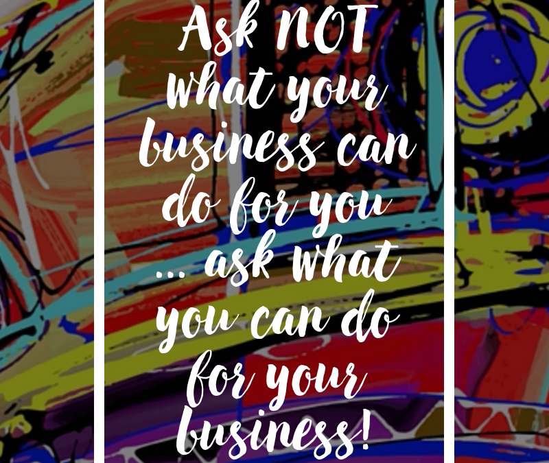 Ask Not …